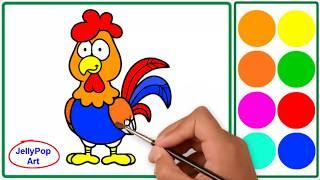 Belajar Mewarnai Gambar Untuk Anak Tk