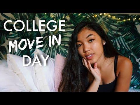 COLLEGE MOVE IN DAY + DORM TOUR | UC IRVINE | Kalia Nicole