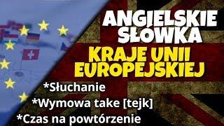 Kraje Unii Europejskiej po angielsku