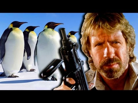Chuck Norris vs Every Penguin In The WORLD - Ultimate Battle Sim