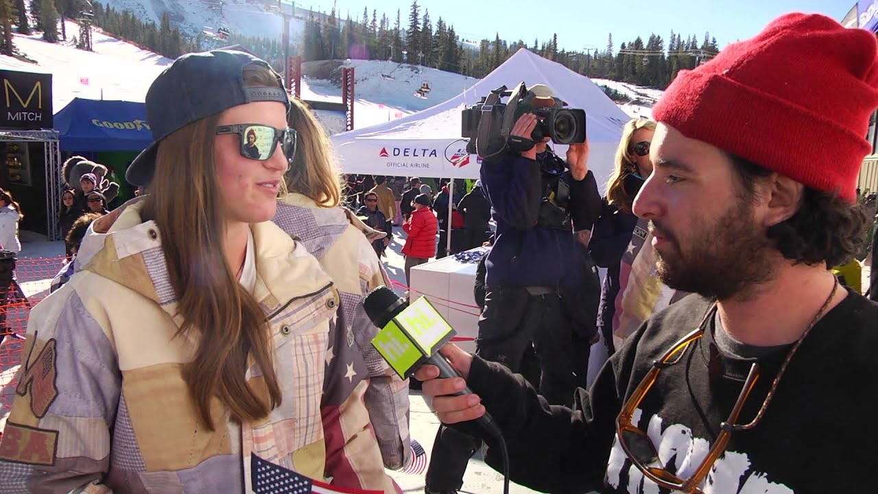 Interviews with the 2014 US Olympic Snowboard Halfpipe Team