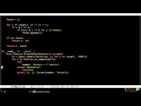 Mastering Python Tutorial: Using concurrent.futures   packtpub.com