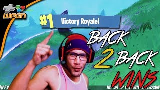 First of 2 Wins - Victory Royale -  Fortnite Battle Royale - Clip from Live Stream 11/20/17