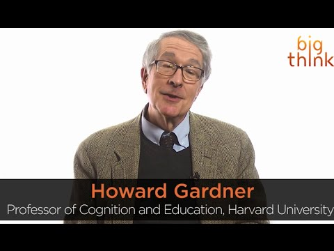 an introduction to the work of howard gardner a professor in cognition and education at the harvard  Howard gardner is the john h and elisabeth a hobbs professor of cognition and education at the harvard graduate school of education he also holds positions as adjunct professor of psychology at harvard university and.