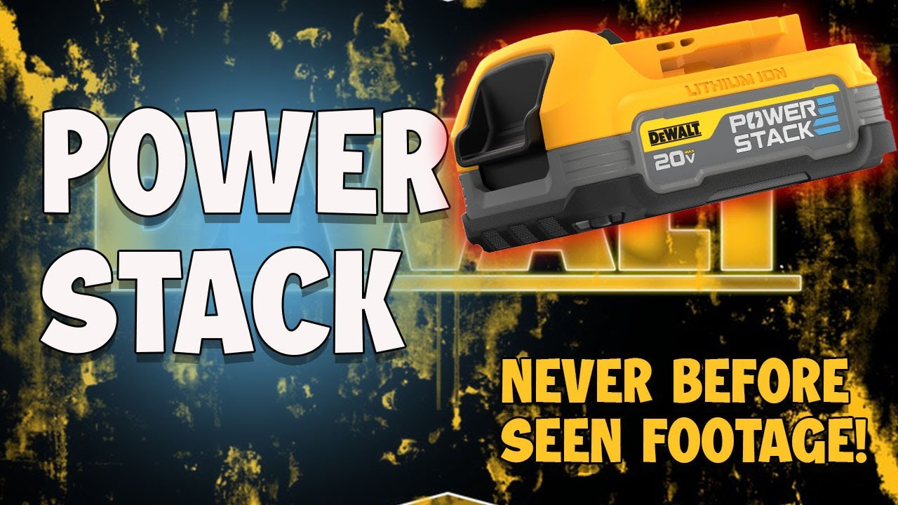 New Dewalt POWERSTACK BATTERY IS BETTER and why you should want them
