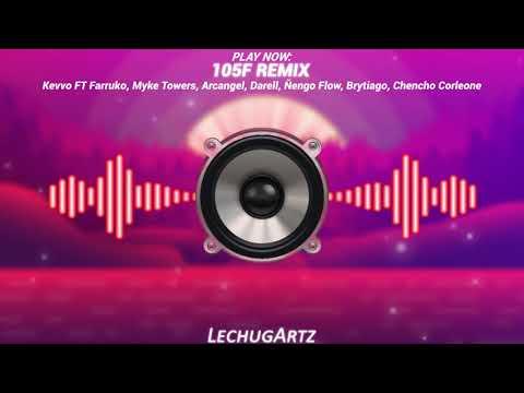 105F REMIX [Bass Boosted] – Kevvo, Farruko, Myke Towers, Arcangel, Darell, Ñengo Flow, Brytiago