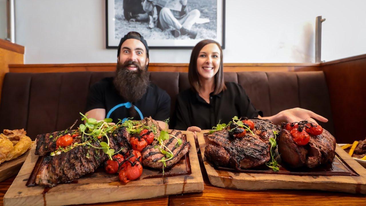 @beardmeatsfood meets a steak