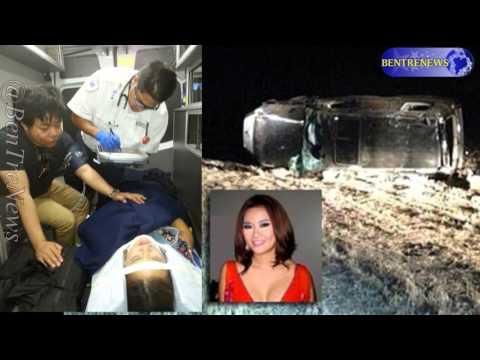 Scandal Toàn bộ tai nạn Quang Lê & Lam Anh  khi lật xe
