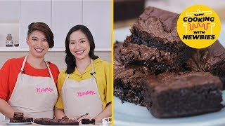 Nutella Brownies Recipe - Cooking With Newbies | Yummy PH