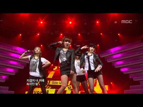 miss A - Over U, 미스에이 - 오버 유, Music Core 20120331