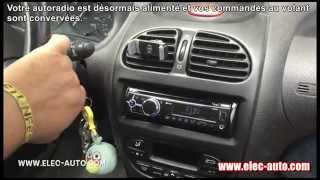 Conservez vos commandes au volant en changeant d'autoradio  -  Peugeot 206