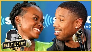 Why Fans Think Lupita Nyong'o and Michael B. Jordan Are FLIRTING on Twitter | Daily Denny