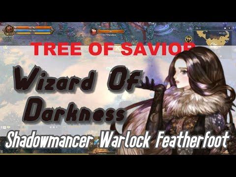 Wizard of Darkness Build  Shadowmancer Warlock Featherfoot