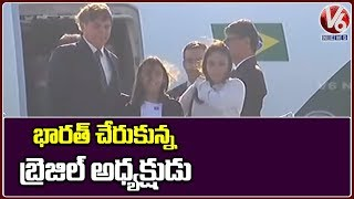Republic Day 2020: Brazilian President Jair Bolsonaro Arrives In New Delhi  Telugu News