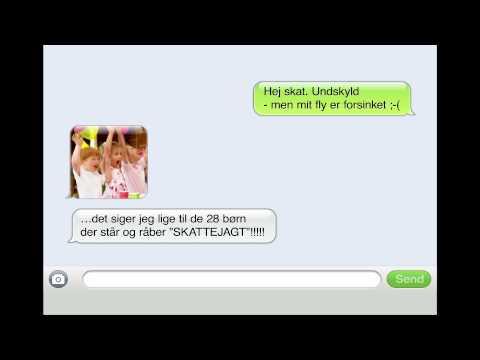 SAS SMS: Hvis du har noget du skal nå (Børnefødselsdagen)