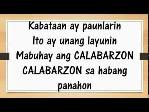 CALABARZON Hymn