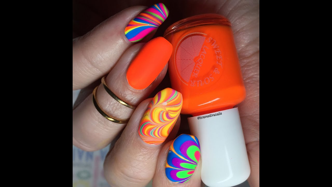 Neon Water Marble | Sweet & Sour Lacquer Catchphrases Collex + 80s ...