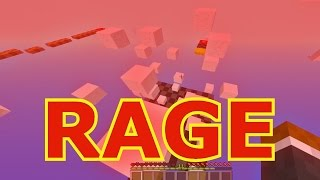 Minecraft 15 Seconds Parkour RAGE Challenge (20 Minutes)