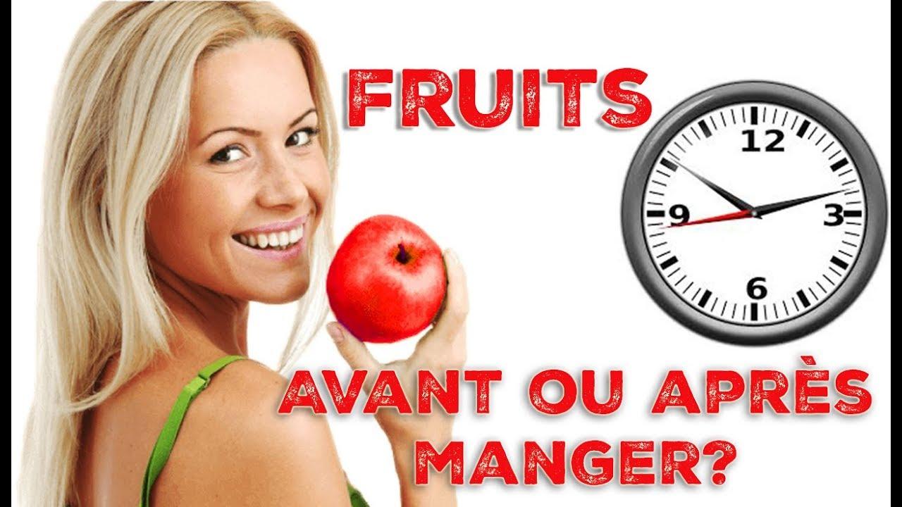 FRUITS : AVANT ou APRÈS le repas ? - YouTube