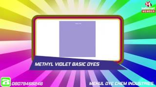Basic And Acid Dyes By Mehul Dye Chem Industries, Ankleshwar