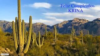 Krina  Nature & Naturaleza - Happy Birthday