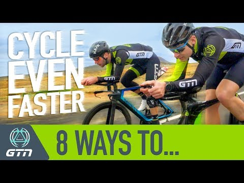 8 Ways to Cycle Faster | How To Ride Quicker Without Training More