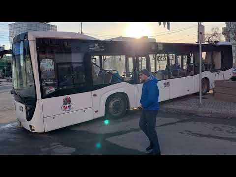 Водитель пытался руками остановить неуправляемый автобус в Ростове-на-Дону