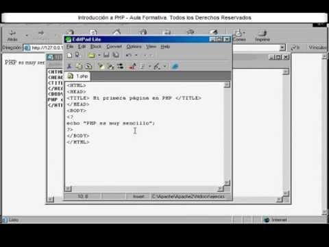 Curso de PHP video 1 de 7