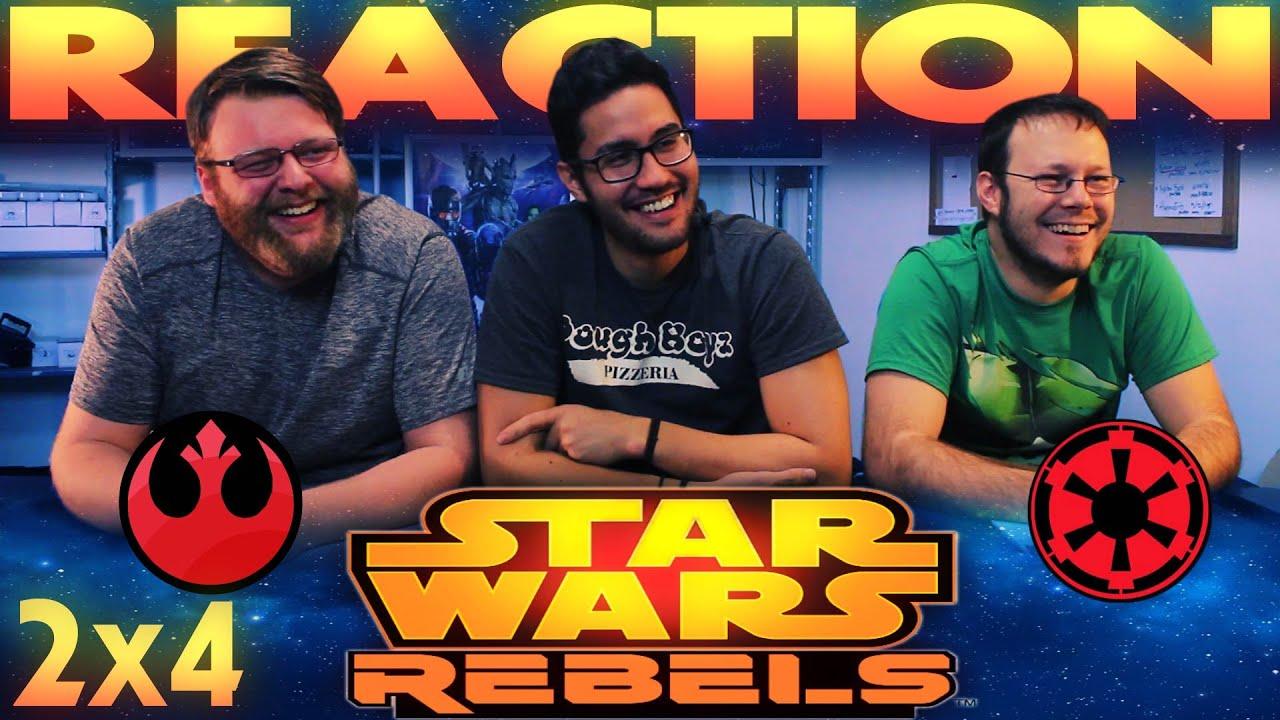 "Download Star Wars Rebels 2x4 REACTION!! ""Brothers of the Broken Horn"""