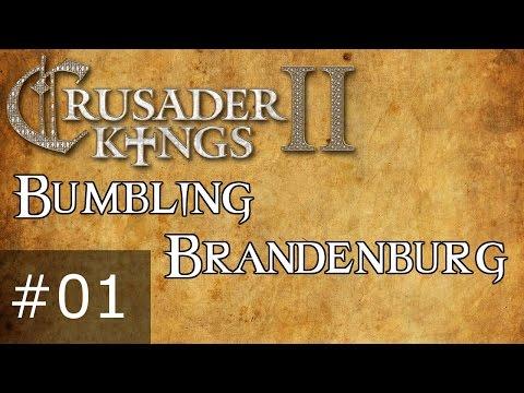 #001 - Bumbling Brandenburg, Crusader Kings 2 Horse Lords