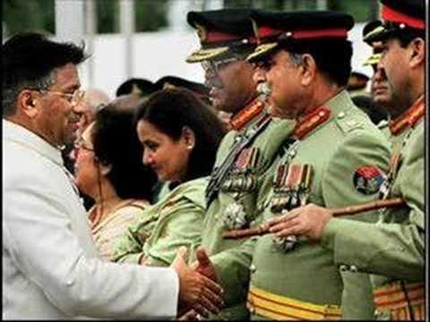 President of Pakistan Pervez Musharraf