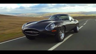 Eagle Jaguar E-Type Low Drag GT - Hill climb in the Brecon Beacons.