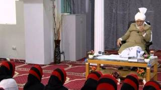 Sydney, Australia: Gulshan-e-Waqf-e-Nau Lajna & Nasirat with Hazrat Mirza Masroor Ahmad
