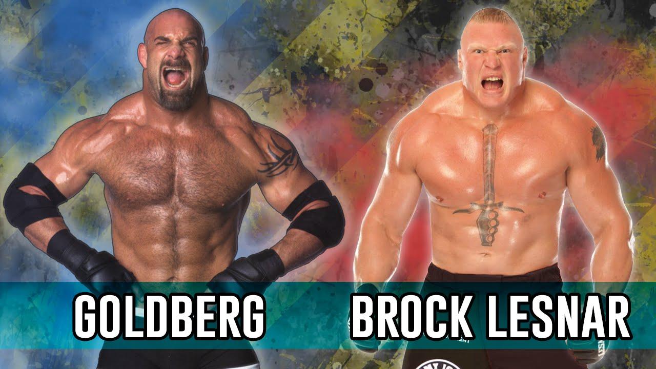 Bill Goldberg VS Brock Lesnar | WWE Smackdown! Here Comes The Pain (1080p  60fps)