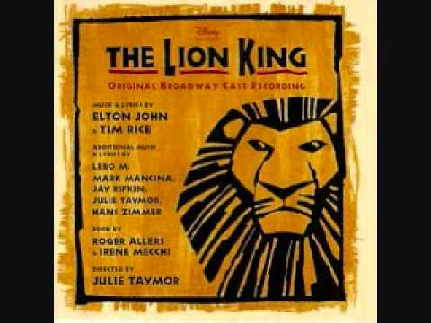 The Lion King Broadway Soundtrack  17 Can You Feel the Love Tonight
