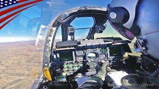 【大迫力の戦闘機コックピット映像】F-35, F-22, F/A-18, F-15, F-16, AV-8B, A-10