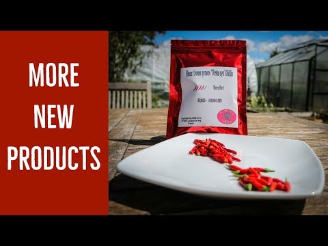 More new products – The Mad Dog Chilli Farm