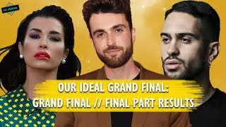 EUROVISION: OUR IDEAL GRAND FINAL RESULTS x FINAL PART
