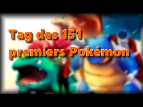 Le Tag des 151 premiers Pokémon
