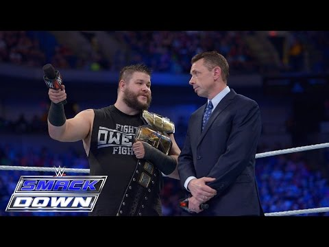 Kevin Owens invades SmackDown: SmackDown, May 28, 2015