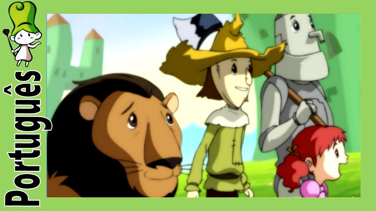 O Magico De Oz Historia De Ninar Br Bedtimestory Tv Youtube