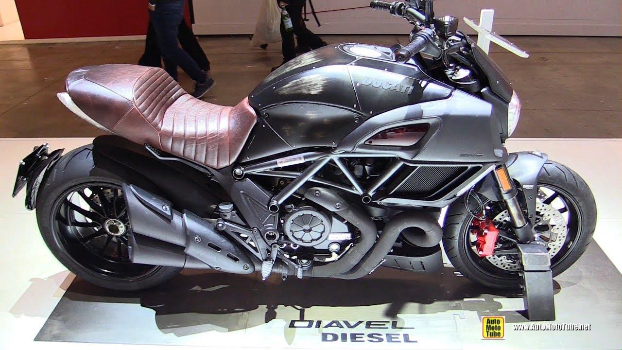 2018 Ducati Diavel Diesel Jeans Walkaround 2017 Eicma Milan