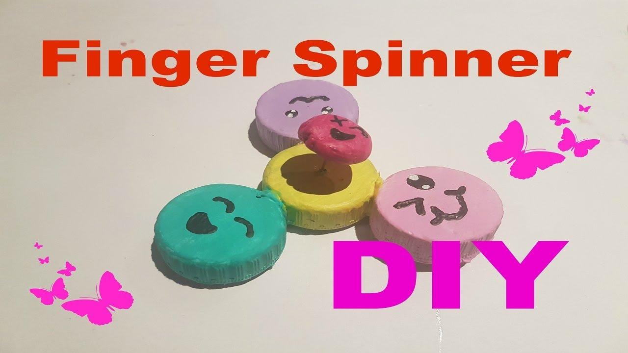 diy kawaii finger spinner selber machen schnell und einfach youtube. Black Bedroom Furniture Sets. Home Design Ideas