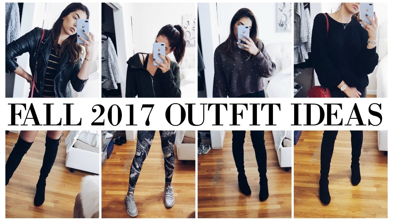 [VIDEO] - Fall Outfit Ideas || What I Wore This Week || Nov 2017 2