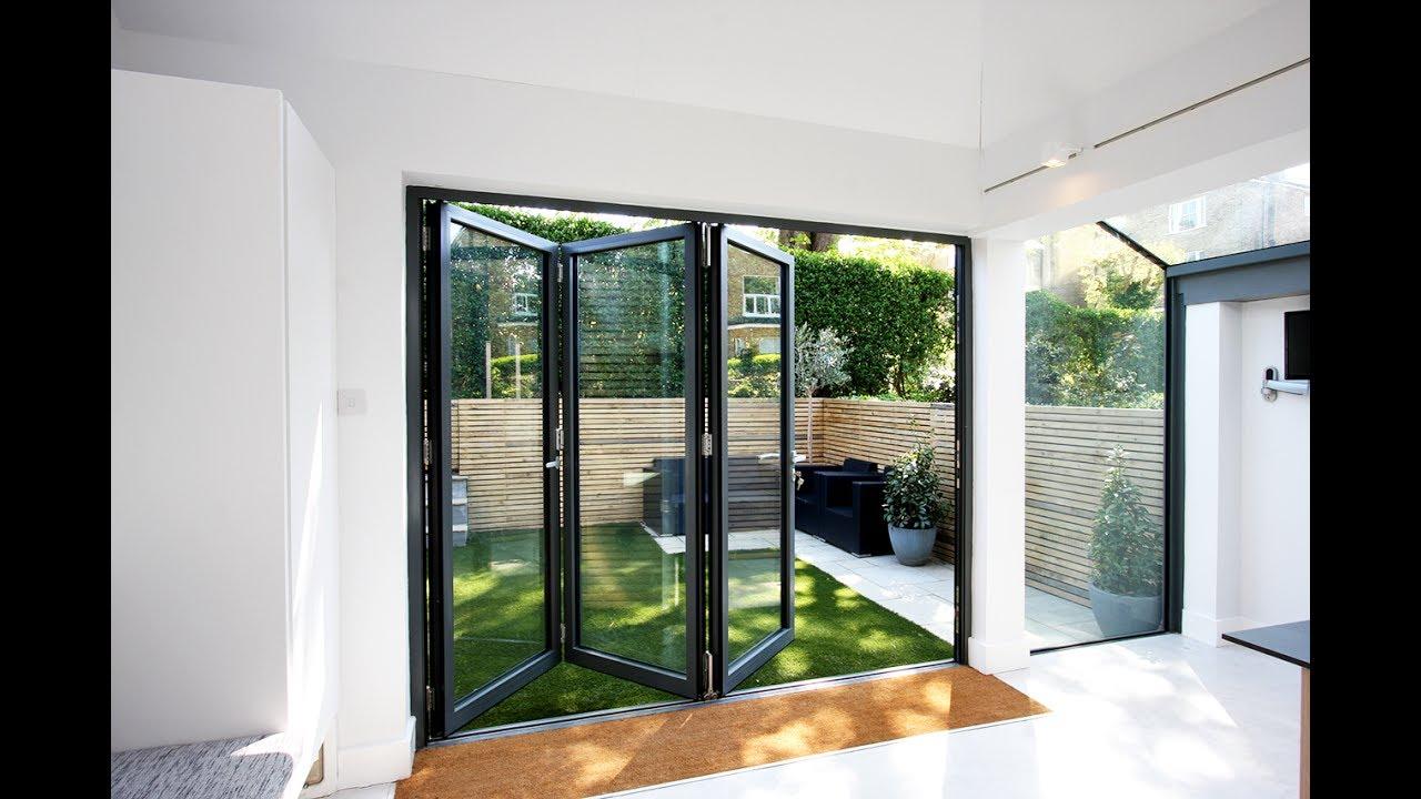 Aluminium Bifold Doors and Windows Ideas - YouTube