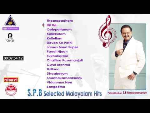 SP Balasubramaniam Malayalam Latest Selected Movie Songs Hit Collections 2017 tharangini upload