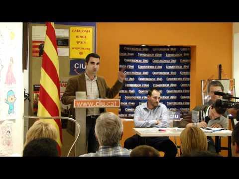 assemblea elecció candidat CiU: Joan Ramon Casals