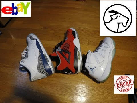 How To Get Your Shoes For Cheap Goat App Ebay Etc Youtube
