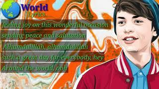 Download lagu Harris J & shujat Ali khan:_ Eid Mubarak {lyrics video}
