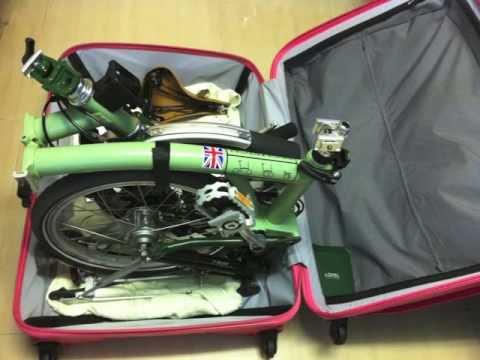 "Lojel 31"" luggage for Brompton M6R"